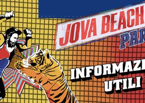 Notizie dal blog: Jova beach party: Informazioni utili