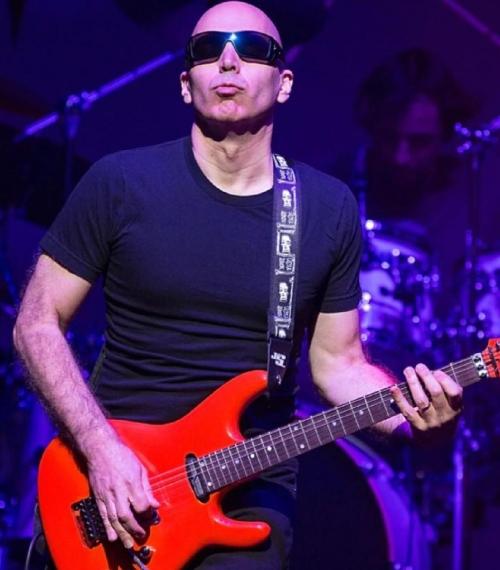 Notizie dal eventi: Joe Satriani world tour