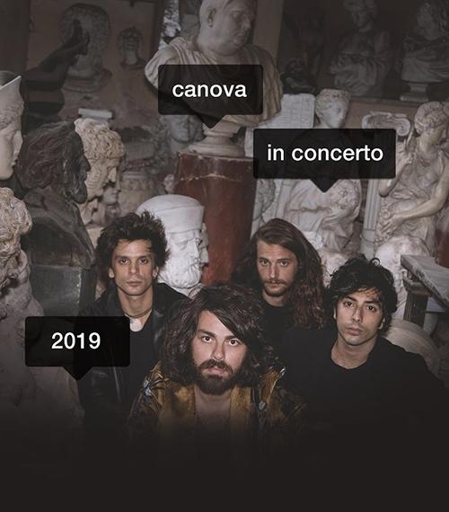 Notizie dal eventi: Canova in concerto